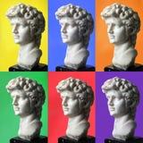 Collage of David Royalty Free Stock Image