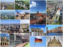 Collage de Alemania fotografía de archivo libre de regalías