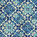 Collage de baldosas cerámicas de Portugal Imagen de archivo libre de regalías