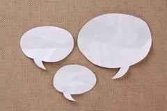 Collage de bulle de la parole Image libre de droits