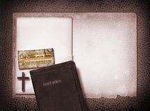 Collage de cuero Fotografía de archivo libre de regalías