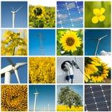Collage de développement durable images libres de droits