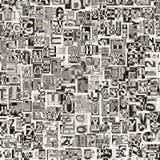 Collage de Digitaces Imagen de archivo libre de regalías