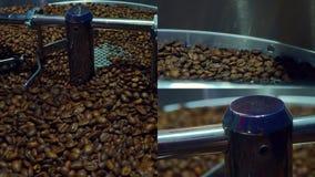 Collage de divers clips vidéo couvrant le sujet du café clips vidéos
