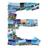 Collage de diverses photos de New York image stock