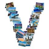 Collage de diverses photos de New York photographie stock libre de droits