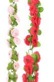 Collage de flores artificiales. Imagen de archivo