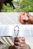 Collage de foi image libre de droits