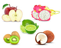 Collage de fruit Image stock