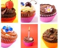 Collage de gâteaux Photographie stock libre de droits