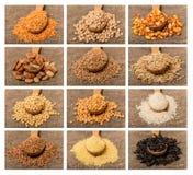 Collage de grain Photo libre de droits