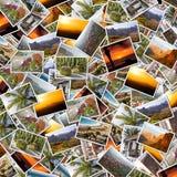 Collage de Gran Canaria imagen de archivo libre de regalías