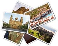 Collage de Gran Canaria foto de archivo