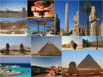 Collage de l'Egypte Photographie stock libre de droits