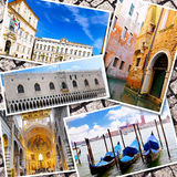 Collage de la belle Italie Photo stock