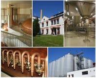 Collage de la cervecería Imagenes de archivo