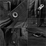 Collage de la chaqueta Fotos de archivo
