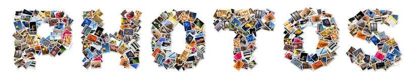 Collage de la foto ilustración del vector