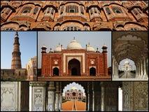 Collage de la India Imagenes de archivo