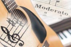 Collage de la música imagen de archivo libre de regalías