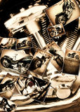 Collage de la motocicleta Fotos de archivo