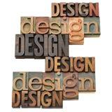 Collage de la palabra del diseño Imágenes de archivo libres de regalías