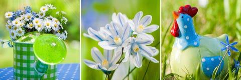 Collage de la primavera fotos de archivo libres de regalías