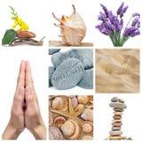 Collage de la salud Imagen de archivo