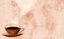 Collage de la taza de café Foto de archivo libre de regalías