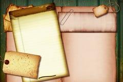 Collage de la vendimia Imágenes de archivo libres de regalías