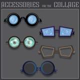 Collage de los accesorios libre illustration