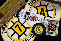 Collage de los Boston Bruins fotografía de archivo