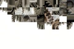 Collage de los dientes Foto de archivo libre de regalías