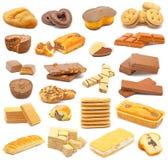 Collage de los dulces fotografía de archivo libre de regalías