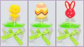 Collage de los dulces de Pascua Fotos de archivo libres de regalías