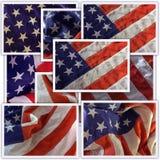 Collage de los E.E.U.U. Imagen de archivo libre de regalías