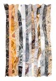 Collage de mármol abstracto imagen de archivo libre de regalías