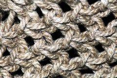 Collage de modèle de texture de tissu de laine de chameau dans un ordre d'échiquier en tant que fond abstrait Photographie stock libre de droits