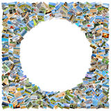 Collage de muchas fotos Fotografía de archivo libre de regalías