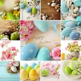 Collage de Pâques photo libre de droits