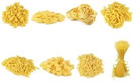 Collage de pâtes Photo stock