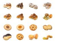 Collage de pâtisserie Photos libres de droits