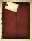 Collage de papel de la vendimia Fotografía de archivo