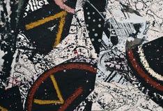 Collage de papier peint à la main illustration de vecteur