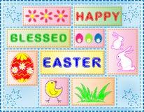 Collage de Pascua Fotos de archivo libres de regalías