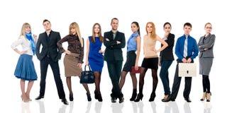 Collage de plusieurs gens d'affaires dans différentes poses. photos libres de droits