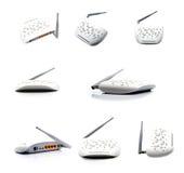 Collage de routeur Image stock