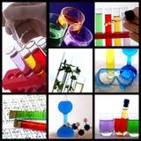 Collage de thème de recherches Photographie stock libre de droits