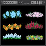Collage degli accessori Fotografia Stock Libera da Diritti
