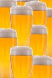 Collage dei vetri di birra Fotografia Stock Libera da Diritti